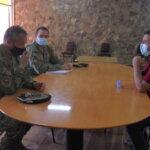 Alcalde Juan Carlos Alfaro se reunió con el Jefe de Zona del Ejército de Chile Pedro Pascual