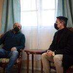 Alcalde Gerald Cerda se reunió con la Asociación de Fútbol de Andacollo