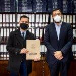 Municipalidad de Andacollo firma convenio con la Contraloría General de la República