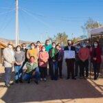 Vecinos de Vista Oasis reciben afectación de terreno y podrán postular a proyectos de pavimentación